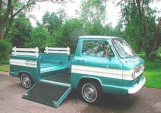 1961 Corvair Pick Up http://www.oldcarandtruckpictures.com/Corvair/