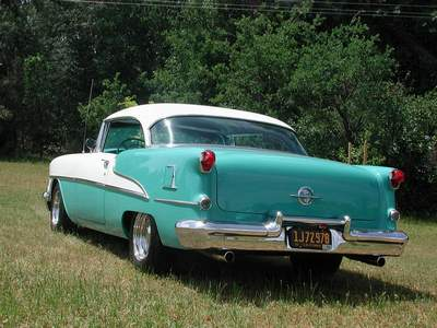 A picture review of the oldsmobile from 1950 to 1959 for Door 55 reviews
