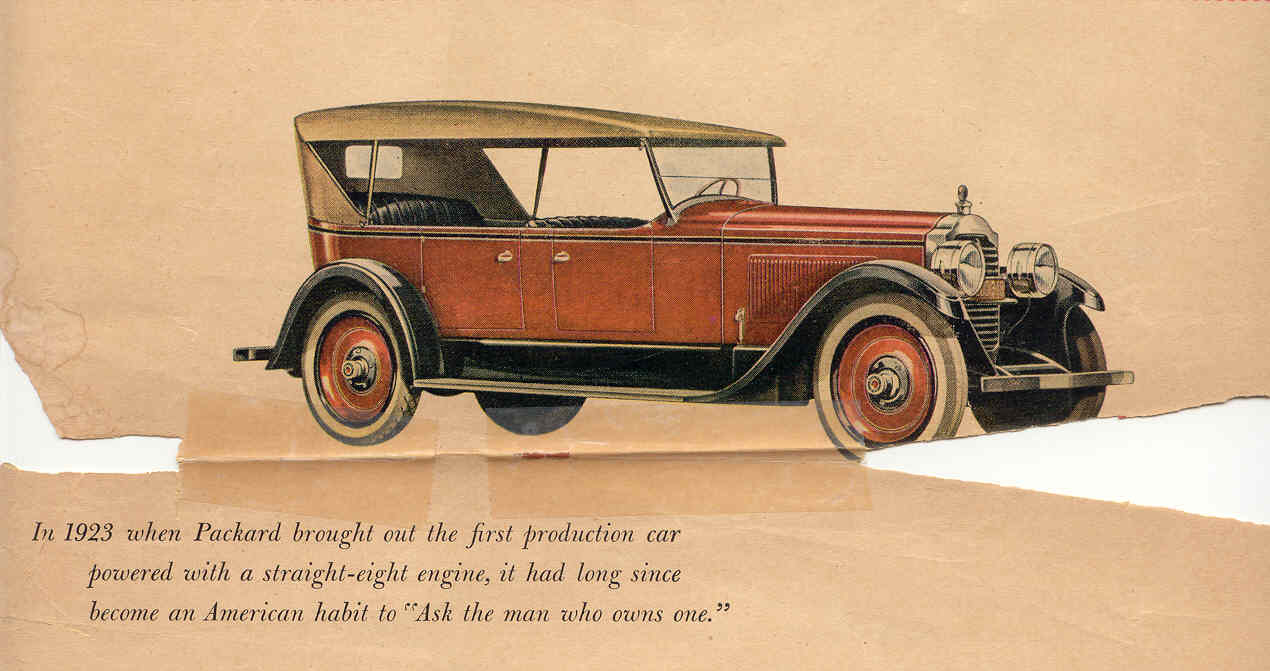 Packard from 1899 to 1929